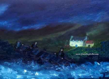 Wild Atlantic Way art
