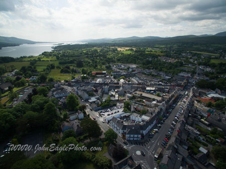 Kenmare with the bay