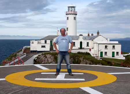 John Eagle at Fanad lighthouse