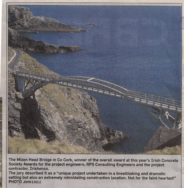 Mizen Bridge award