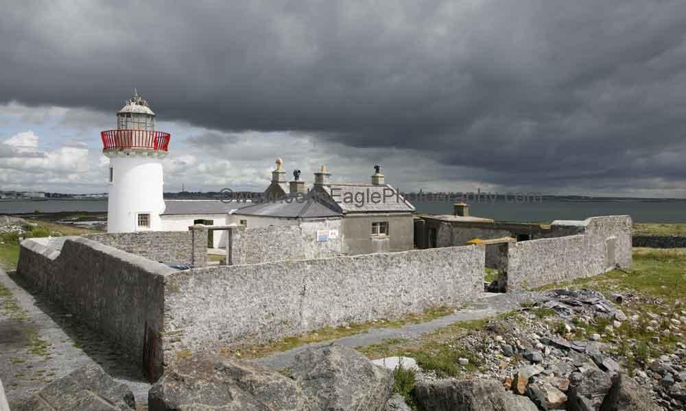 Island Exhibition Stand : Mutton island lighthouse