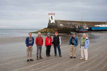 Northern Irish Extreme Lighthouse Tour group